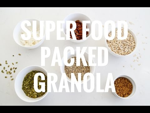 Super Food Packed Granola