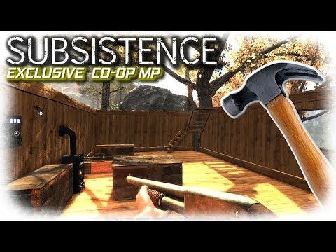 Building and Rogues | Subsistence Multiplayer Coop | EP8