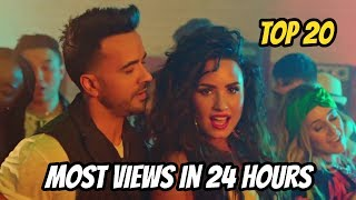 Top 20 Most Viewed Songs In First 24 Hours On YouTube!! (UPDATED) November 18 - 2017