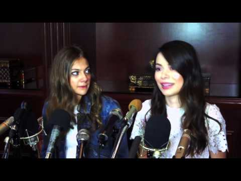 MIA SERAFINO & MIRANDA COSGROVE Praise 'Crowded' Producer James Burrows