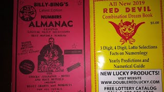 Easy Hits for the 3&4 digit lottery Billy Bings Numbers Almanac March 2019 for all states Video