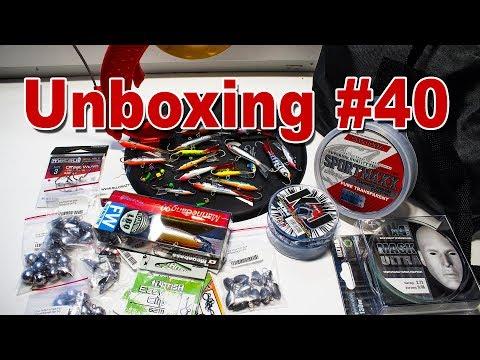 Unboxing готовлюсь к зимнему сезону часть 2 LJ, Megabass, Akkoi и т.д. от магазина Spinningline