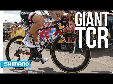 Tour de France Bikes - Giant TCR Advanced SL   SHIMANO