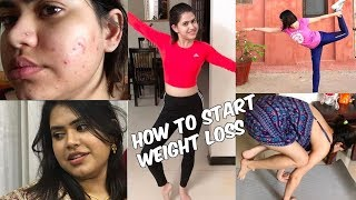 How to START weight loss journey with PCOS/PCOD | How to start fitness journey | How to lose weight