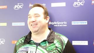 Brendan Dolan ready to face Daryl Gurney for last 16 place in Wolverhampton