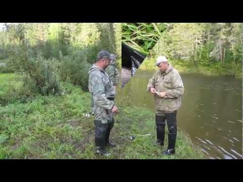 ловля на тирольскую палочку в стоячей воде видео