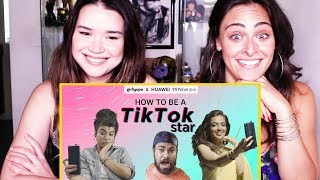 HOW TO BE A TIKTOK STAR ft. Ahsaas Channa, Jizzy & Bhavini Soni | Girliyapa | Reaction!