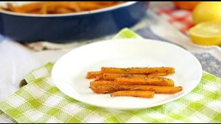 Рецепт ПП- Морковь запеченная со специями -  [Simple Food - видео рецепты]