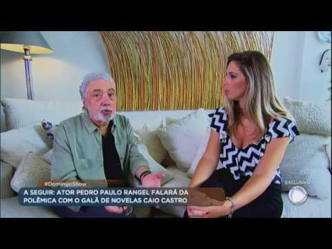 Pedro Paulo Rangel revela que tem doença grave no pulmão