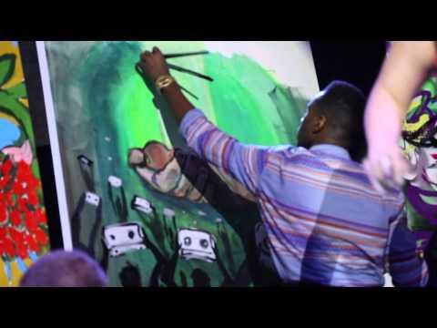 Watch Byron McCray WIN NYC Art Battle!