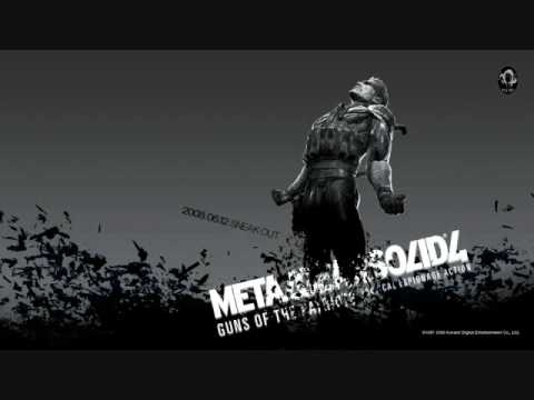Metal Gear Solid 4 Theme Song-Old Snake