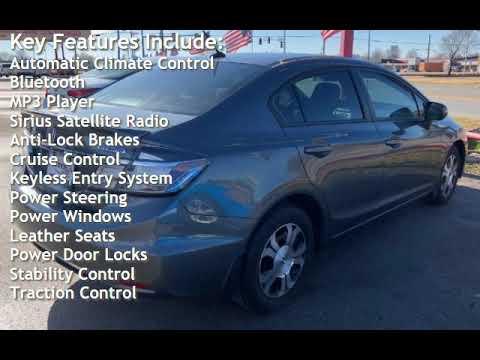 2013 Honda Civic Hybrid w/Leather for sale in TULSA, OK