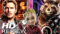 GUARDIANS OF THE GALAXY 2 Kritik Review (2017)