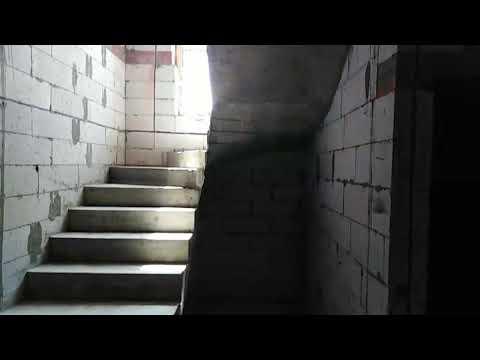 Монолитная лестница на мансарду
