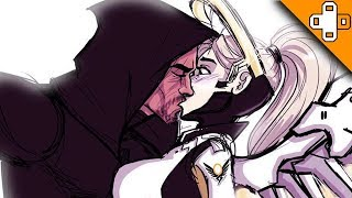 Mercy and Reaper KISS?! - Overwatch Funny & Epic Moments 285 - Highlights Montage