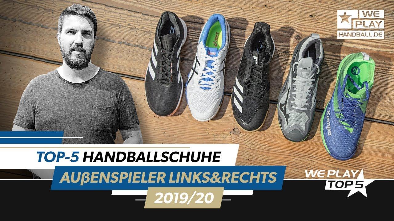 Top-5 Handball shoes left wingmen / right wingmen 2019/20