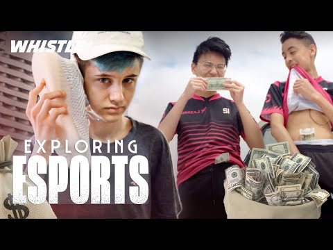 Fortnite PROS Go Sneaker Shopping | Sceptic, FaZe Megga & Wolfiez