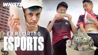 Fortnite PROS Go Sneaker Shopping | Sceptic, FaZe Megga & Wolfiez Video