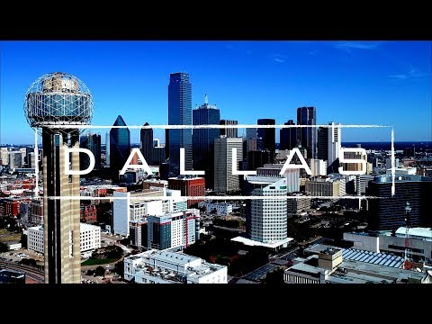 Dallas, Texas | 4K Drone Footage