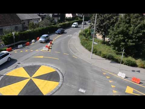 Rondo Kardeljeva - Streliška iz zraka