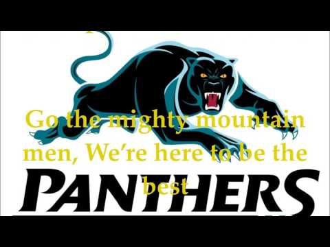 Penrith Panthers theme song (Lyrics) NRL Sing-A-Long