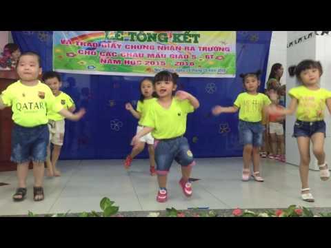 Bài nhảy La La của lớp Mầm 1 - Nhà trẻ Tuổi Ngọc