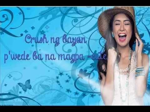 Kathryn Bernardo - Crush ng Bayan (Lyric Video)