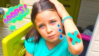Oh Mommy Oww Oww! Song I KLS Nursery Rhymes & Kid Songs