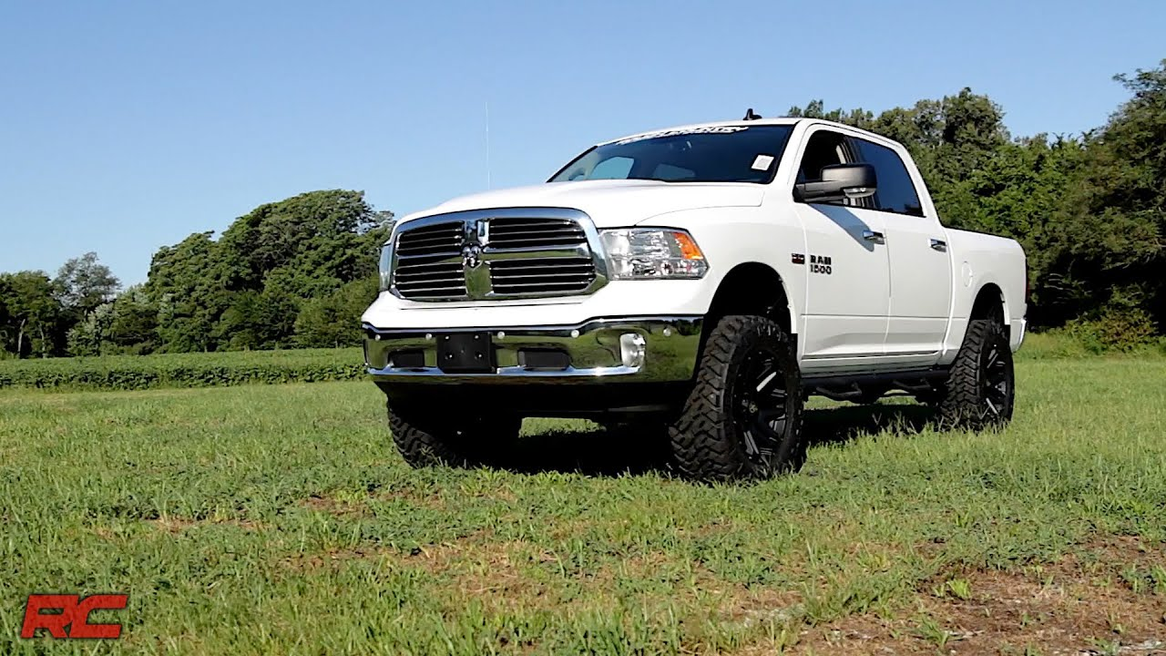 2016 ram 1500 big horn crew cab 4x4 white vehicle profile youtube. Black Bedroom Furniture Sets. Home Design Ideas