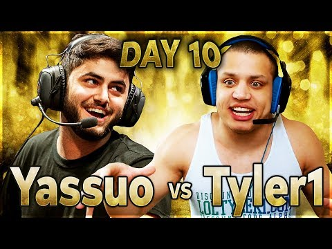 THE GAP IS CLOSING?! | YASSUO VS TYLER1 - $10K BET: DAY 10