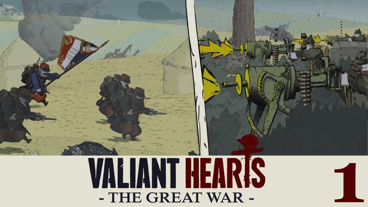 Valiant Hearts The Great War Gameplay Español 1 Youtube