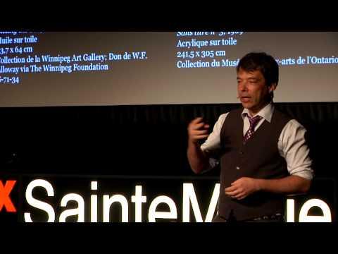Voir autrement, à travers l'autre | Martin Boisseau & Bernard Lamarche | TEDxSainteMarie