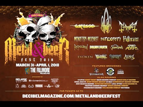 Metal and Beer weekend in Philly + vinyl scores!
