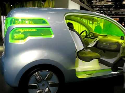 Renault Ze Concept Al Motorshow 2008 Youtube