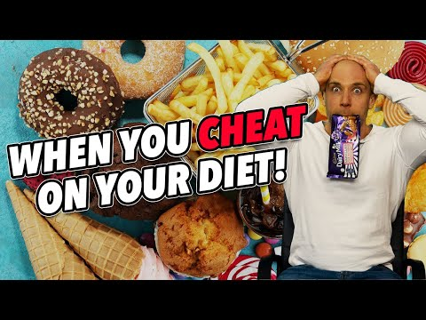 YOU CHEATED ON YOUR DIET! What To Do Do After You Overeat!