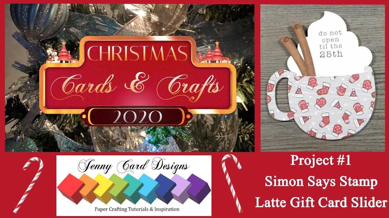 Christmas Craft Fair Ideas 2020 Youtube Christmas Cards & Crafts 2020 Project #1: How To Use Simon Says