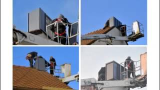 Wykończenie komina - montaż gotowej obudowy Fasada Plus™  System