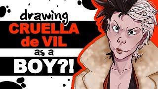 CRUELLA de VIL as a BOY!?! (Ft. LavenderTowne)