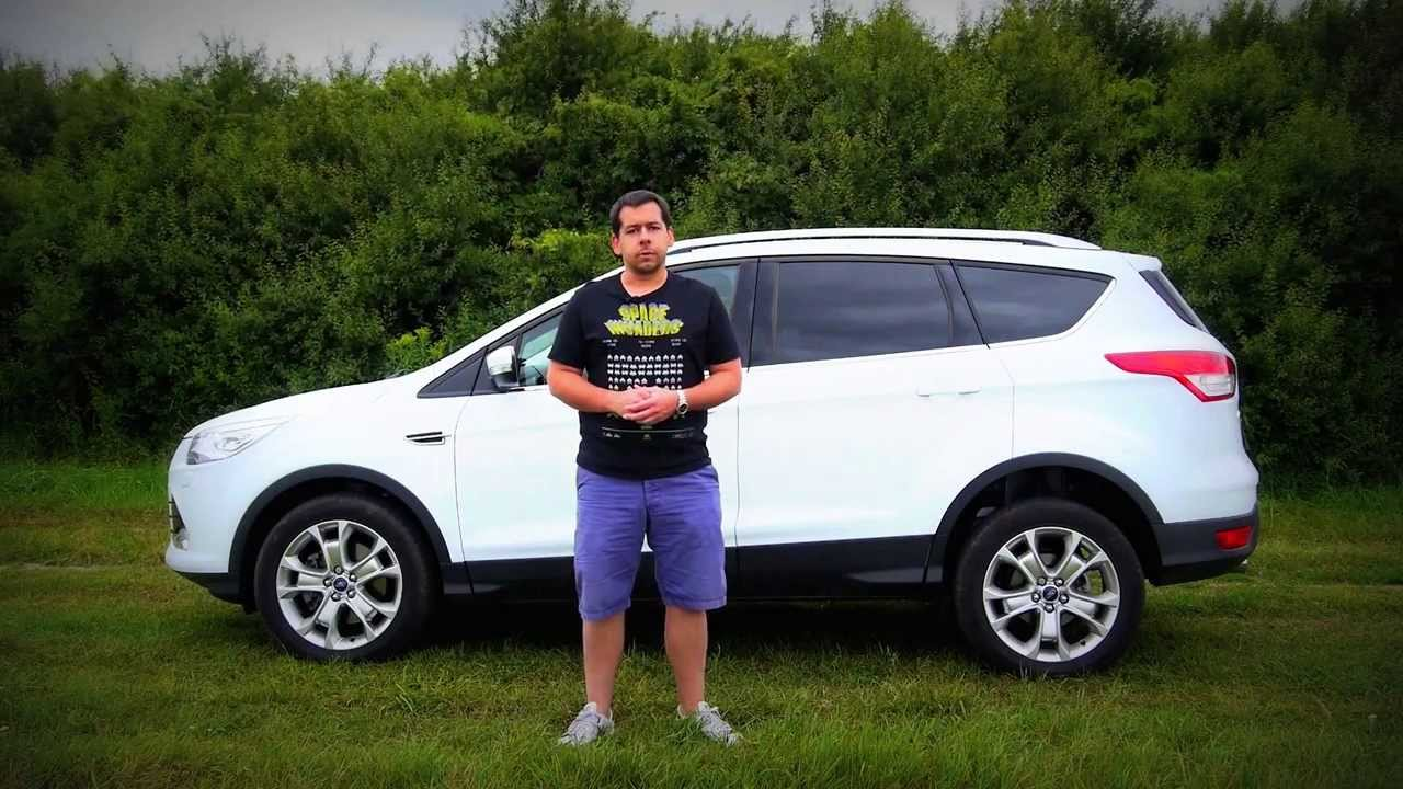 eng ford kuga test drive and review youtube. Black Bedroom Furniture Sets. Home Design Ideas