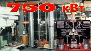 Запрещенный статический БТГ генератор вырабатывает 750 кВт электричества с 1980г