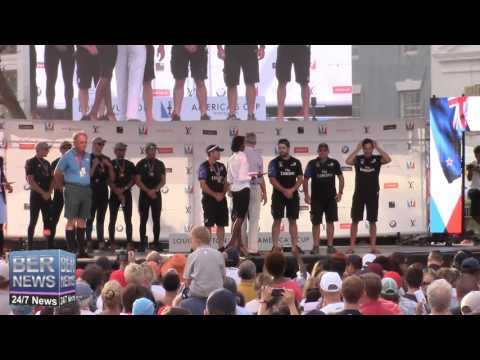 America's Cup World Series Prize Presentation, October 18 2015
