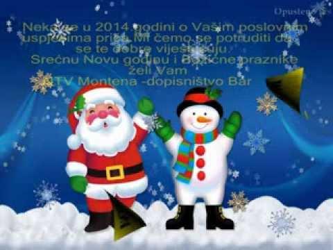slike čestitke za novu godinu ČESTITKE ZA NOVU GODINU I BOŽIĆNE PRAZNIKE   YouTube slike čestitke za novu godinu