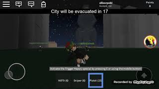 Roblox (Godzilla attack simulator)