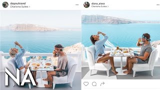 Girl Follows and Copies Travel Instagrammer Around the World