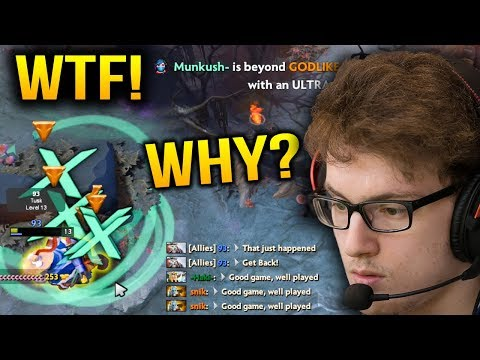 MIRACLE: WHY STEAL MY RAMPAGE??? WTF Dota 2