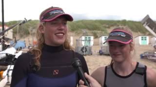Social Flash Welkom op het water | Catamaran zeilen Sanne & Britt