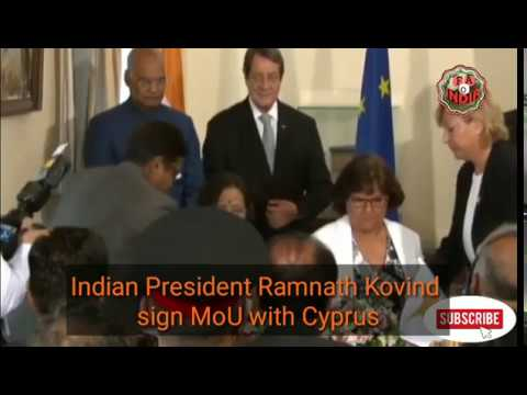 Joint Press Statement between India and Cyprus ||MoU sign between two countries ||