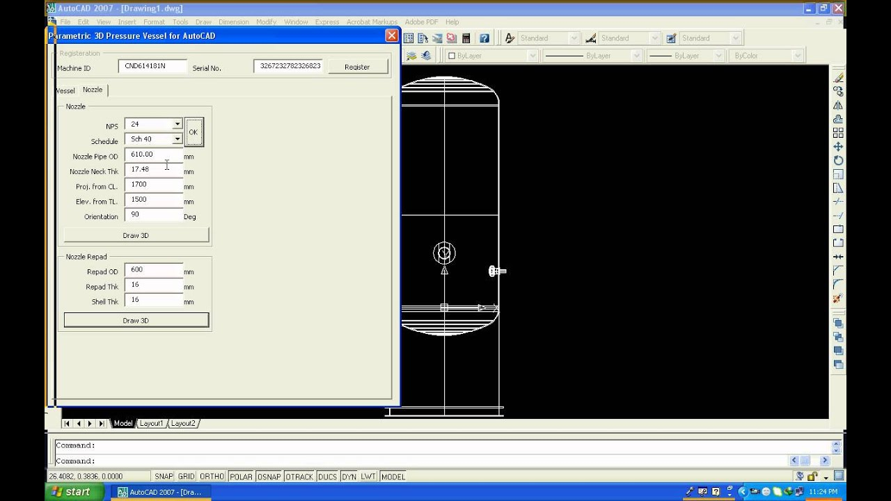 how to get autocad to recentre and out of 3d
