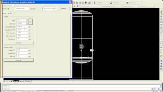 Parametric 3d Pressure Vessel In Autocad