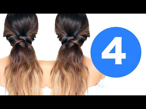 ★ 4 LAZY Fall HAIRSTYLES  💋 | Girls EASY HAIRSTYLES
